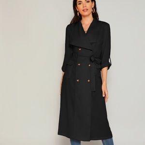 Brand new Black trench coat
